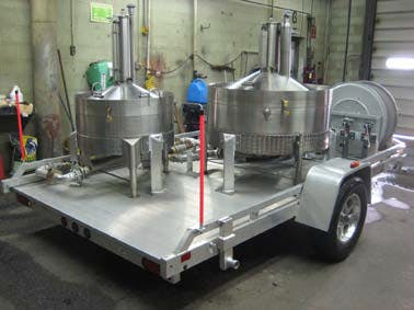 Trailer Mounted 50, 100 or 200 Gallon Prover
